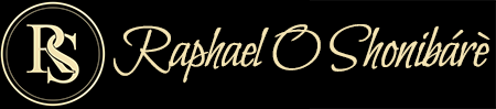 Raphael O Shonibare Logo